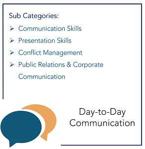 Day to Day Communication_Sub Categories