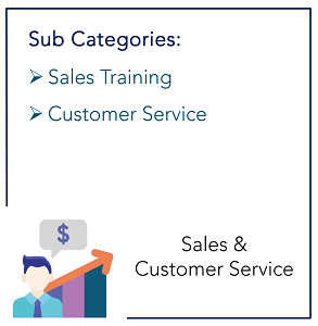 Sales and Customer Service_Sub Categories